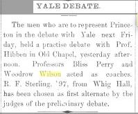 1895 Woodrow Wilson article